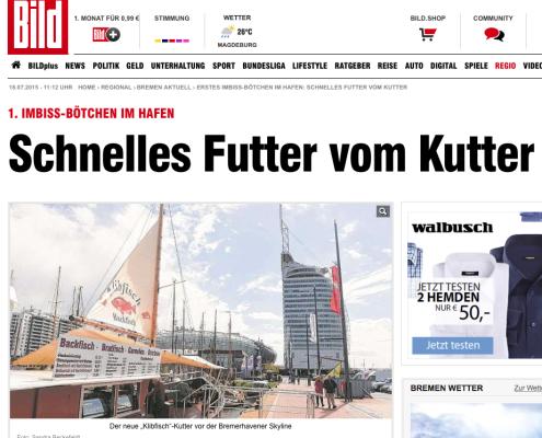 bild.de: Schnelles Futter vom Kutter